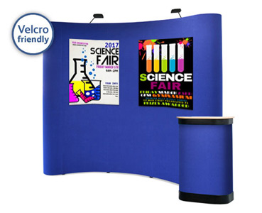 Velcro Friendly Popup Stands