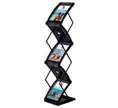 Eclipse A4 Collapsible Brochure Stand