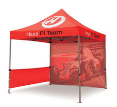 Custom Printed Gazebos - 3m x 3m