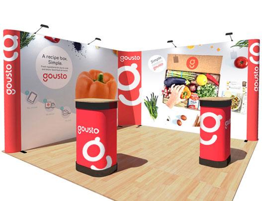 Corner Exhibition Stands Kit : Exhibition stands corner stands pop up displays