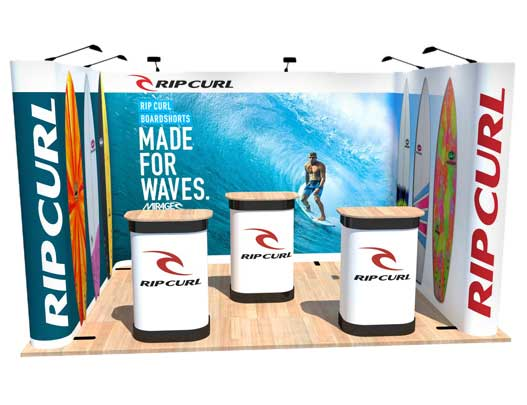 Kit I - U-Shaped Popup Stand - 4 x 3m Area