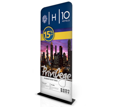 Monolith Fabric Display Stands - 900mm