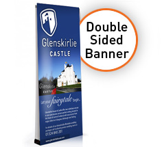 Double Sided V2000 Banner