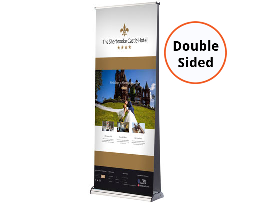 Double Sided V6000 Banner