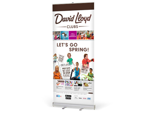 VX3085 Pull Up Banner