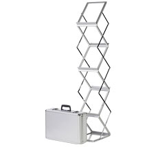 Z-Stand Portable Literature Stands - A5, A4 & A3